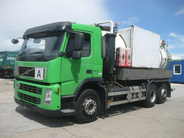 čistič odpadových jam Volvo - FM9.300 SAUG/DRUCK/GGVS/KIPPEN FABOK