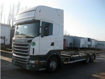 Kontejnérový podvozek/ výměnná nástavba  Scania - R 440 Jumbo BDF 7.82 EEV