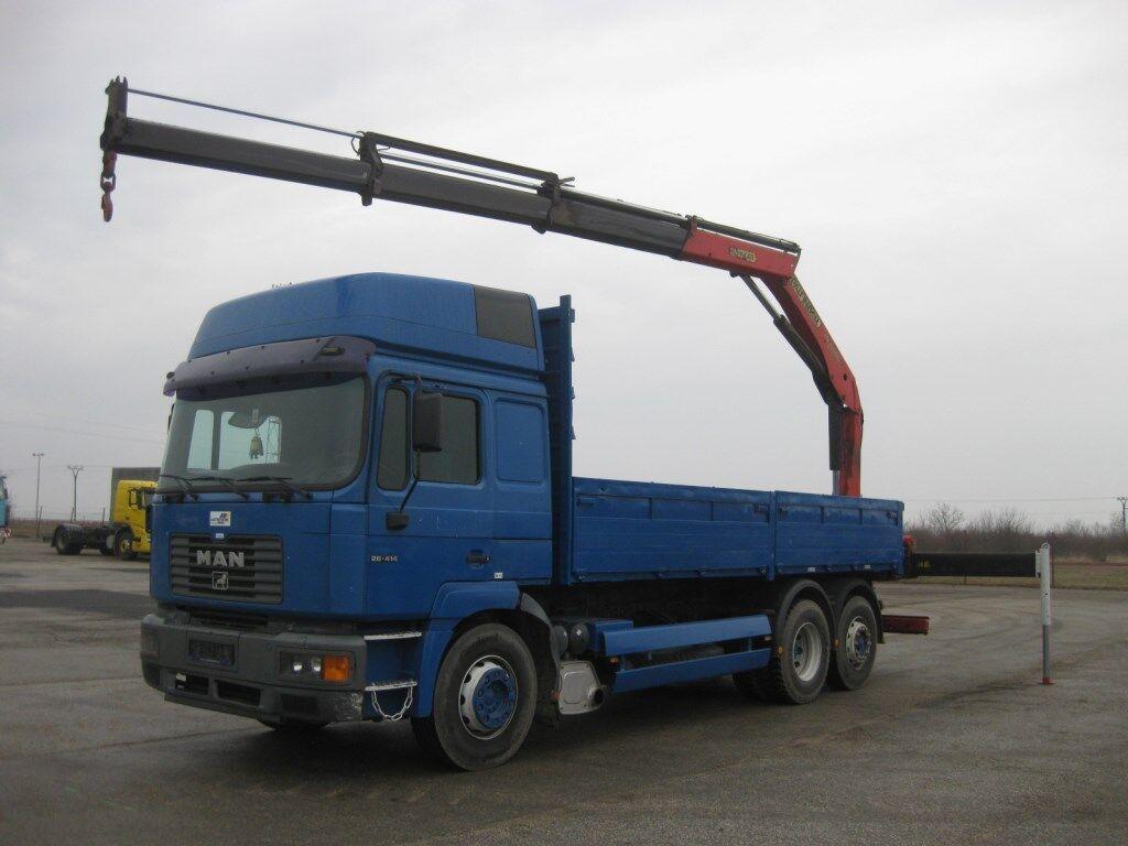 nákladní automobil valníkový/ plošinový MAN 26.414 FNLLW 6x2-2