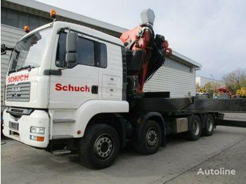 Nákladní automobil valníkový/ plošinový MAN TGA 35.400 BL 8x4