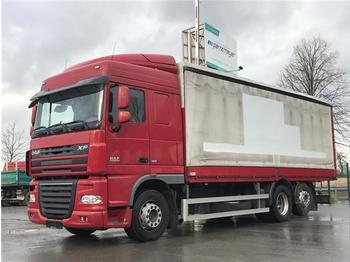 Plachtový nákladní auto  DAF - XF 105 460 6x2 Space Cab