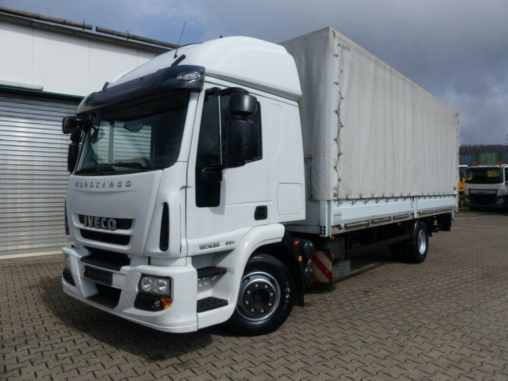 plachtový nákladní auto IVECO ML120E28 4x2