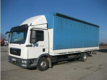 Plachtový nákladní auto  MAN - TGL 12.250 BB 4x2 18 Pal.