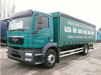 Plachtový nákladní auto  MAN - TGM 18.250 BL