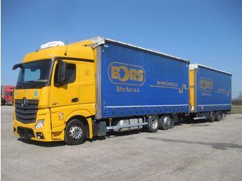 Plachtový nákladní auto MERCEDES-BENZ MERCEDES-BENZ PANAV Actros 2542 L/NR Actros 2542 L/NR TV18L