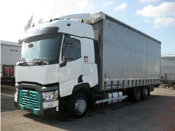 Plachtový nákladní auto  Renault - T460 HD004 Jumbo 6x2 ZUG mit Pritsche PANAV