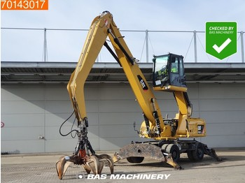 Caterpillar M322D MH WITH GRAPPLE - MATERIAL HANDLER - jeřáb