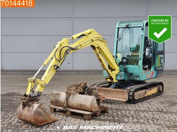 Yanmar B30V 4 BUCKETS AND HAMMER - mini rýpadlo